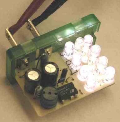 Схема источника постоянного тока для управления светодиодами с выходной мощностью 0,5Вт на основе преобразователя...