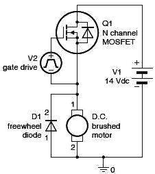 ...автомобильного двигателя, построенного на MOSFET транзисторах.