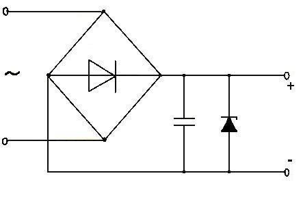 А вот эквивалентная схема подключения нагрузки в схеме усилителя моста(полумоста - кому как нравится.