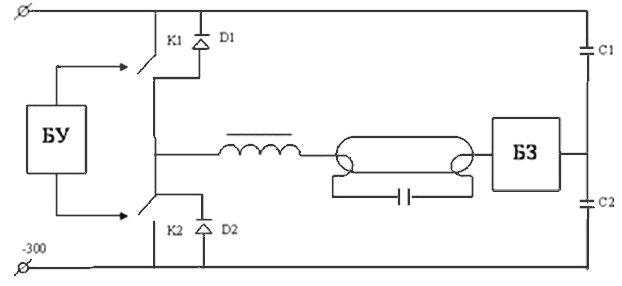 Обобщенная полумостовая схема