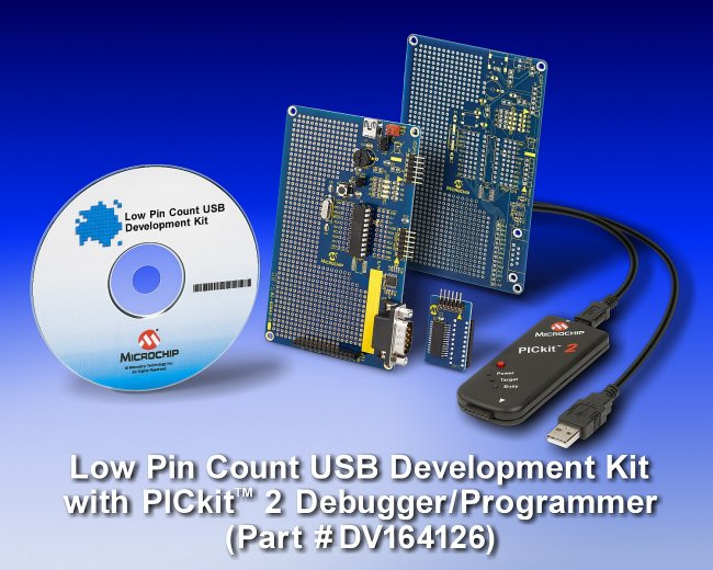 Демонстрационный комплект Low Pin Count USB Development Kit