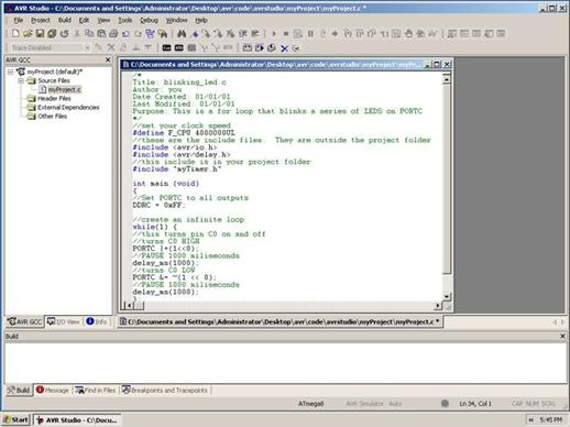 ������ ������ � ��������� ���������� Programmers Notepad