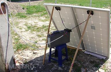 Кабель и коннекторы для модулей солнечных батарей