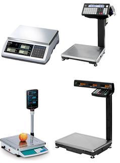 Весы торговые с печатью этикеток