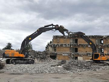 Демонтаж капитальных построек