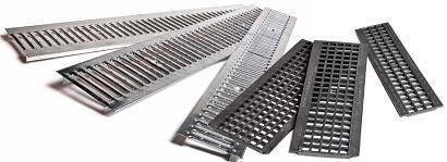 Дренажные стальные решетки