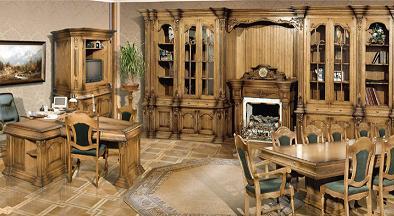 Элитная мебель из массива дерева