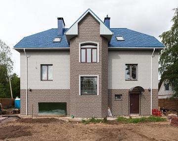 Фасад из фиброцементных панелей