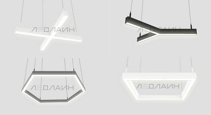 Фигурные светодиодные светильники