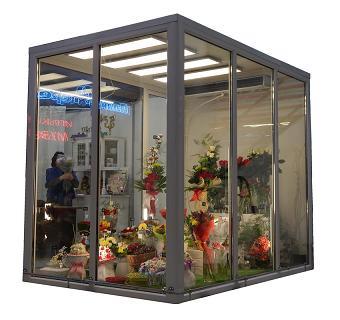 Холодильные камеры для продажи цветов