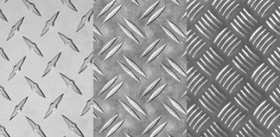 Листовой рифленый алюминий