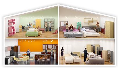 Покупка мебели онлайн в Lamelio
