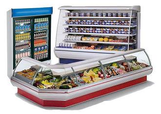 Торговое оборудование для продовольственных магазинов