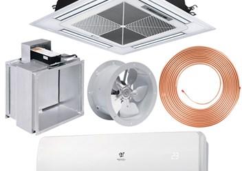 Оборудование и материалы для систем кондиционирования и вентиляции