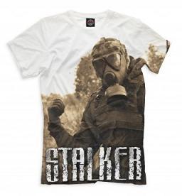 футболка сталкер