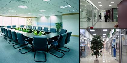 Современное освещение офисных помещений
