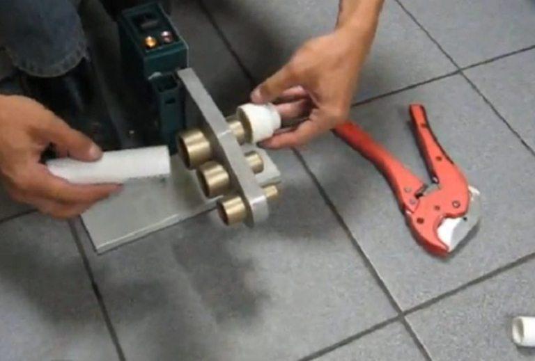 Особенности монтажа полипропиленовых труб и фитингов