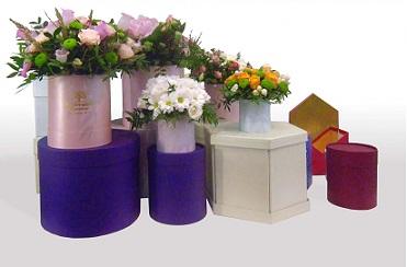 Шляпные коробки для композиции из букета