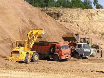 Речной песок в строительстве
