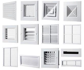Решетки для систем вентиляции