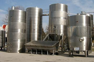 Резервуары для промышленного применения