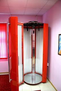 вертикальный солярий флексус. производитель солнечная система