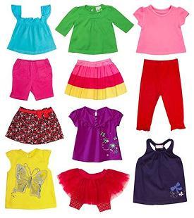 Современная детская одежда