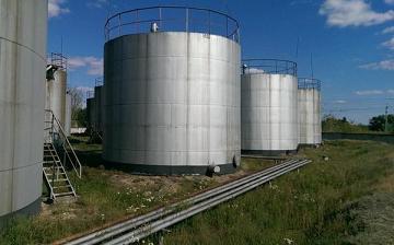 Стальные вертикальные резервуары