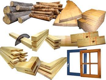 Строительные материалы из древесины