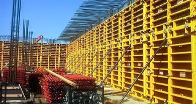 Опалубка в строительстве