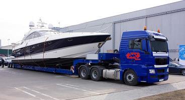 Наземная перевозка катеров и яхт