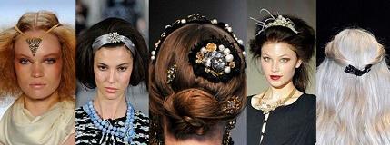 Женские украшения на голову