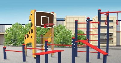 Уличное игровое и спортивное оборудование