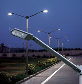 Светодиодные светильники в уличном освещении
