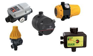 Устройства автоматики и контроля для насосов и систем водоснабжения